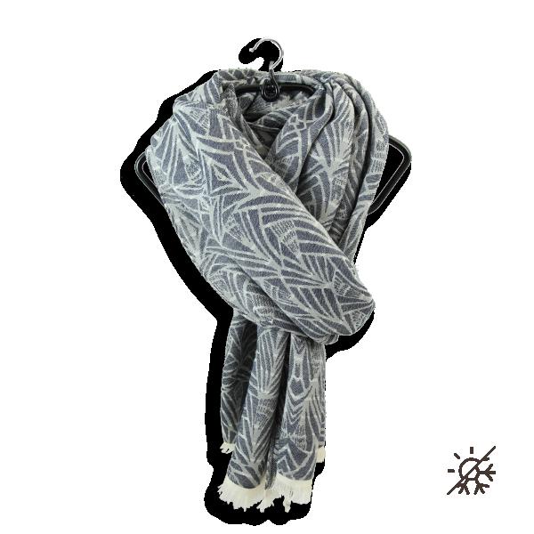 Chèche-homme-femme-coton bio-certifié-bleu-marine-Pampa
