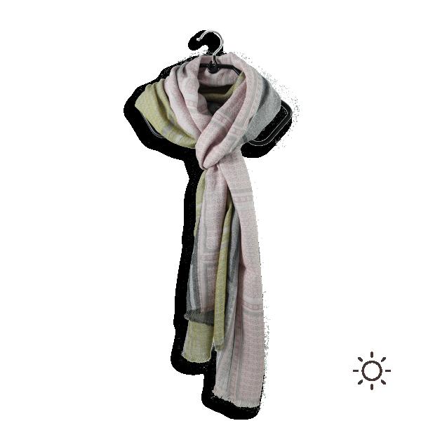 Cheche-femme-coton-modal-rose-gris-freesia-2A