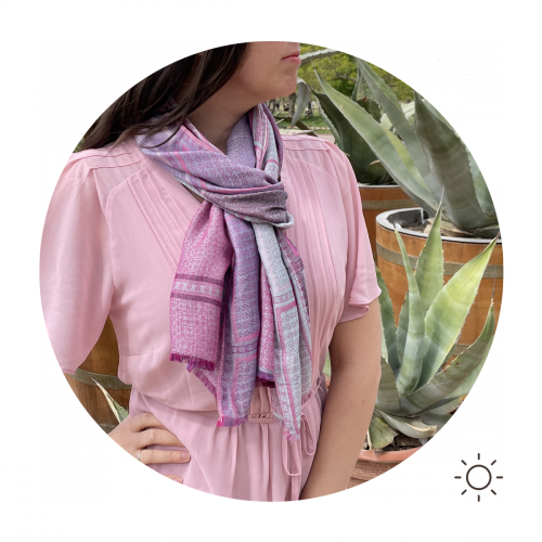 Cheche-femme-coton-modal-rose-violet-freesia-3A