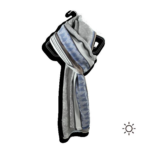 Cheche-homme-femme-Rose-des-Sables-coton-modal-gris-4A