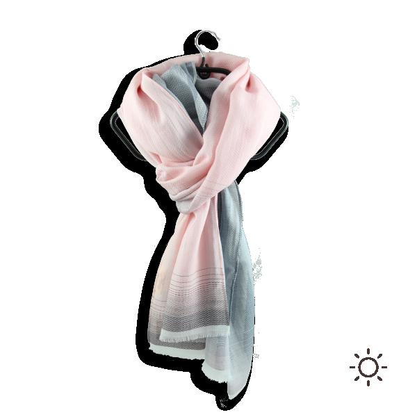 Cheche-femme-Crépsucule-coton-soie-rose-poudre-5A