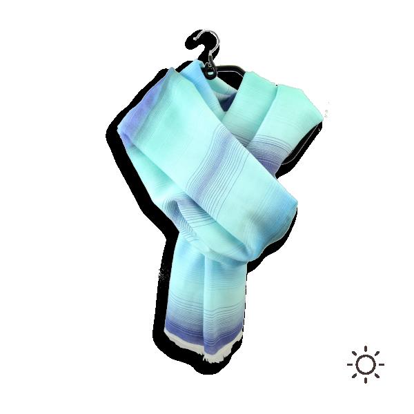 Chèche-homme-femme-coton-soie-turquoise-bleu-Oasis