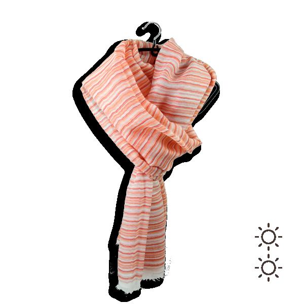 Cheche-femme-riziere-coton-modal-soie-rouge-corail-1A