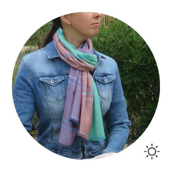 Woman-stole-cotton-modal-turquoise-purple-freesia-4A
