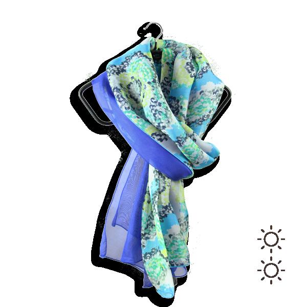 Foulard-femme-duo-de-soie-coquillage-bleu-3A