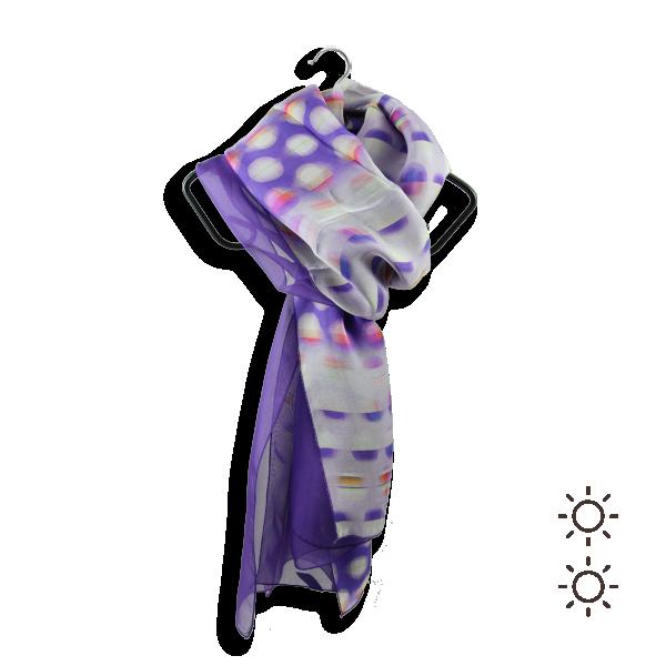 Foulard-femme-soie-violet-rond-2A