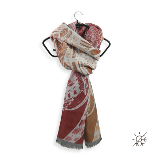 Chèche-Arthemis-coton-soie-rouge-1A