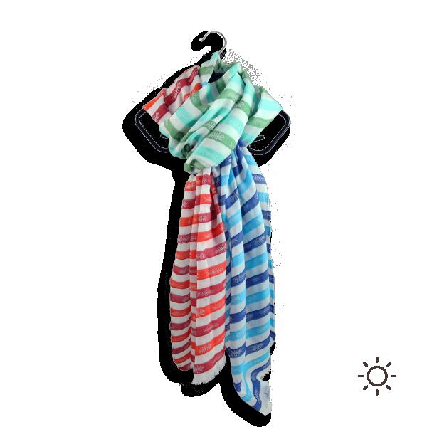 Foulard-femme-swing-fish-rouge-bleu-coton-soie-1A