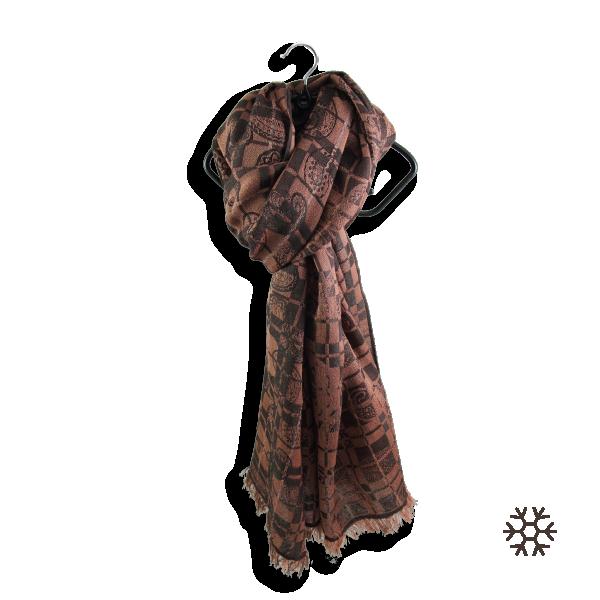 Echarpe-femme-virtuose-laine-soie-nude