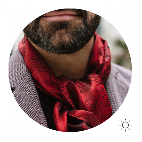 Foulard-homme-soie-rouge-charles-5A
