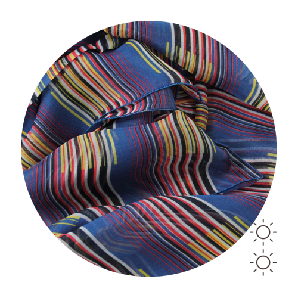 Foulard-soie-femme-rayure-bleu-multicolore-2A