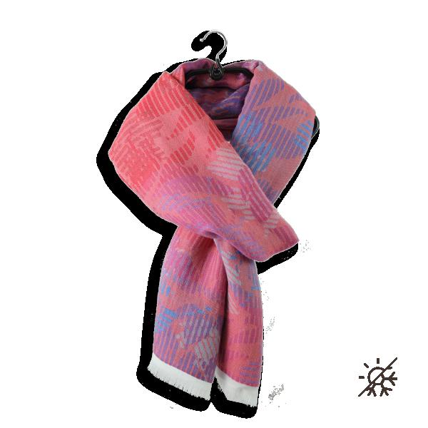 Etole-Cheche-femme-coton-modal-columbia-rose-bleu-violet-2