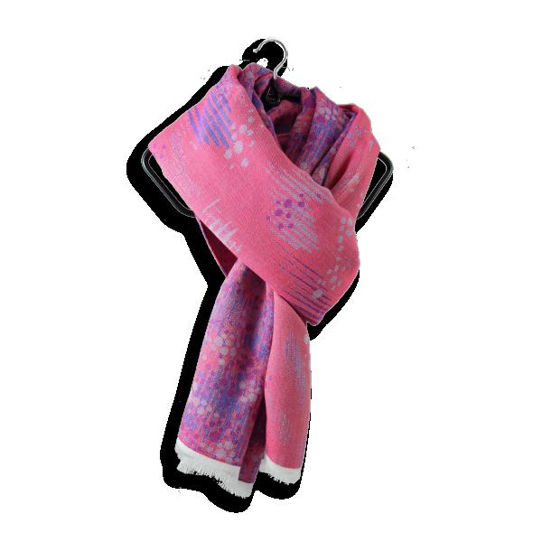 Etole-femme-coton-soie-perma-rose-violet-4A