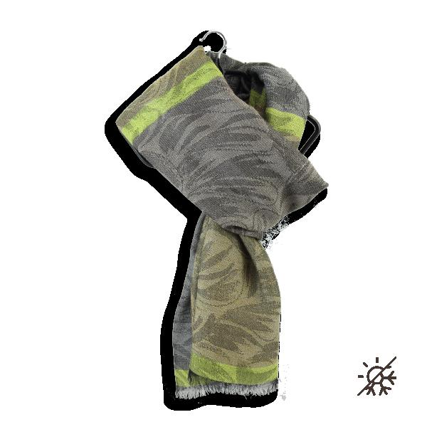 étole-homme-femme-laine-coton-beige-gris-Mystic-4A