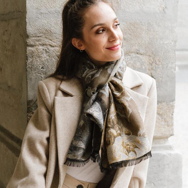 Etole-femme-laine-coton-soie-beige-botanic-1A