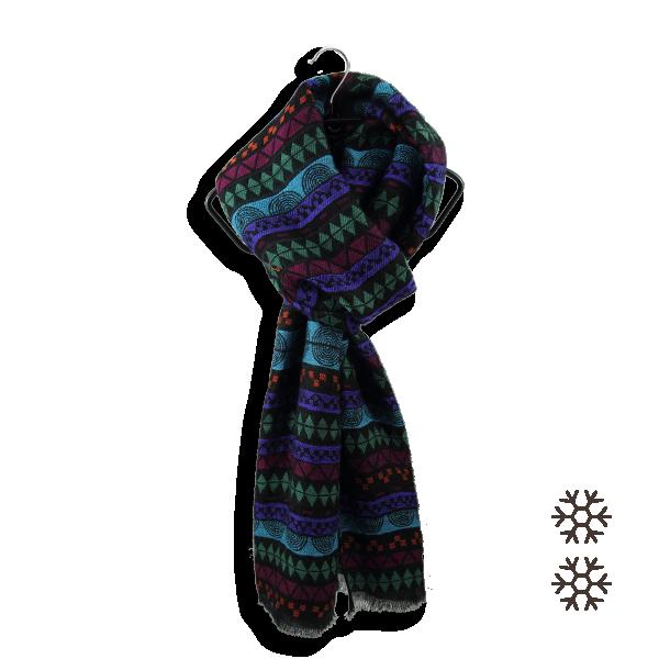 Etole-mixte-sydney-laine-merinos-coton-soie-noir-violet-4A