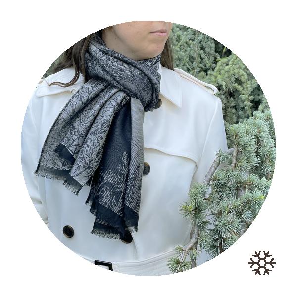 Etole-femme-laine-coton-soie-gris-perle-Secret-2A