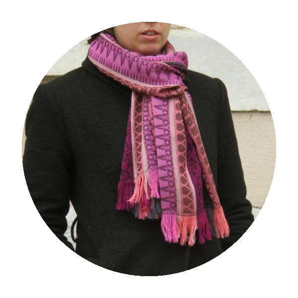 Echarpe-femme-precieux-laine-modal-rose-gris-1A