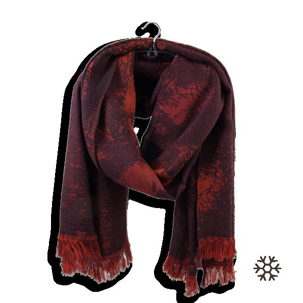 étole-femme-modal-laine-coton-bordeaux-rouge-Confetti