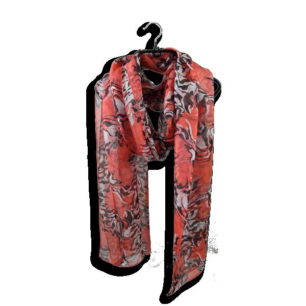 Foulard-femme-peau-de-bete-soie-rouge-2A
