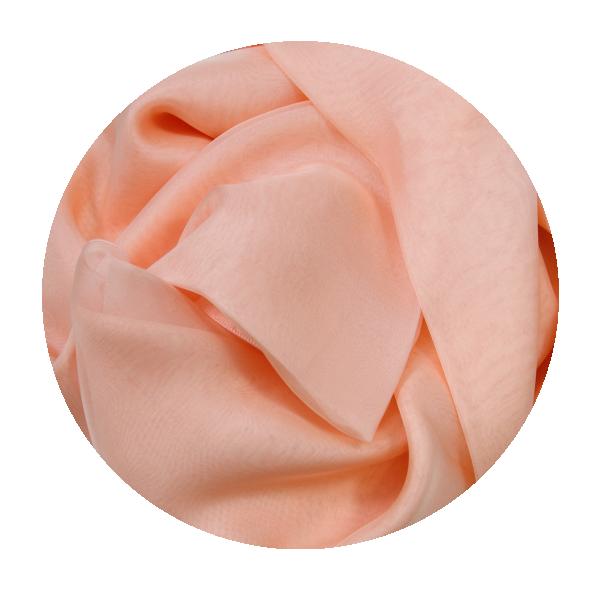Etole-femme-mousseline-soie-uni-fabrique-en-france-rose-saumon-5222A
