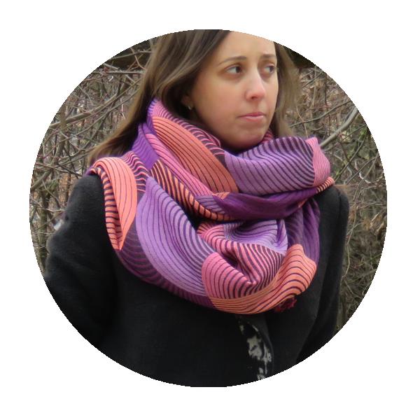Maxi-Carre-femme-prestige-laine-soie-coton-orange-violet-2A