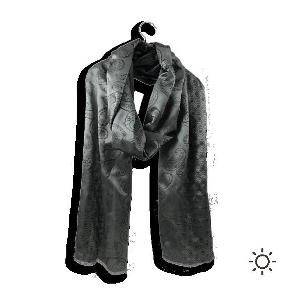 Scarf-Men-Charles-Silk-Grey