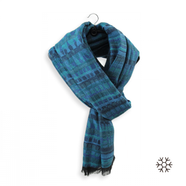 Blue-men-stole-modal-cotton-wool-cromagnon-3A