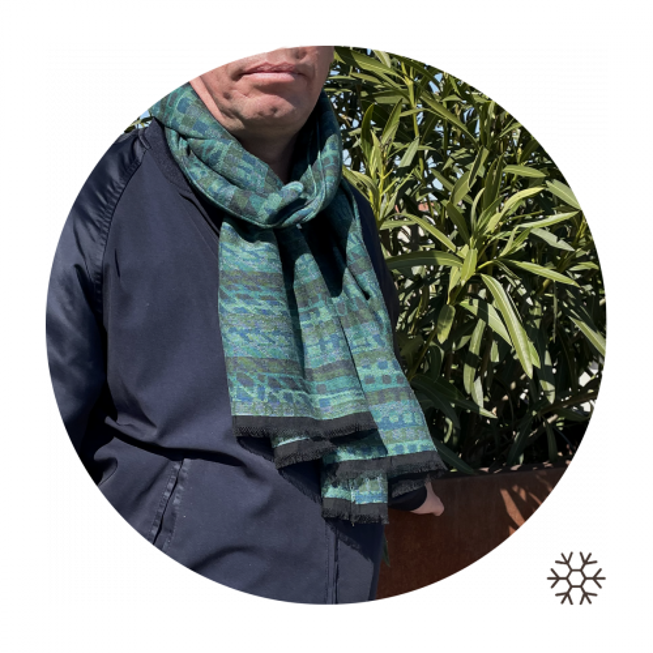 Green-men-stole-modal-cotton-wool-cromagnon-2A