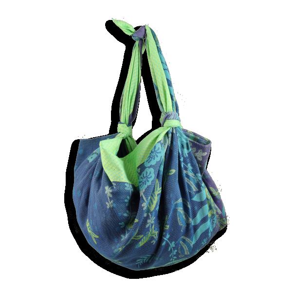 Sac-coton-modal-soie-furoshiki-bleu-vert-Ariel-3