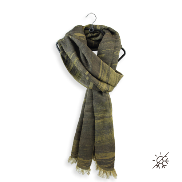 Man-scarf-cotton-silk-spirit-brown-gold-spirit-6A