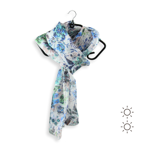 Woman-scarf-chiffon-silk-printed-Romantique-blue-2A