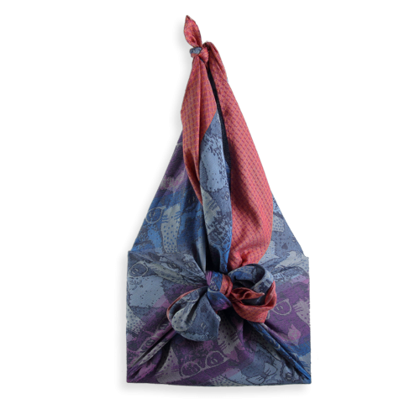 Shiki bag cathy rust purple cat 1