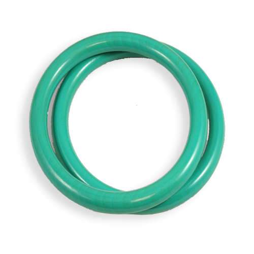 rings in beech bleu turquoise made in france