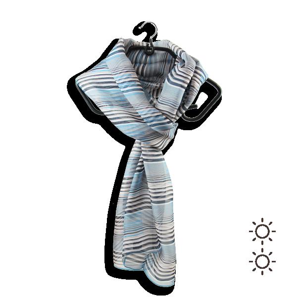 Woman-silk-scarf-printed-stripes-grey-beige-3A