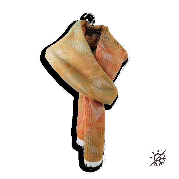 Woman-stole-Cotton-modal-Columbia-orange-4A