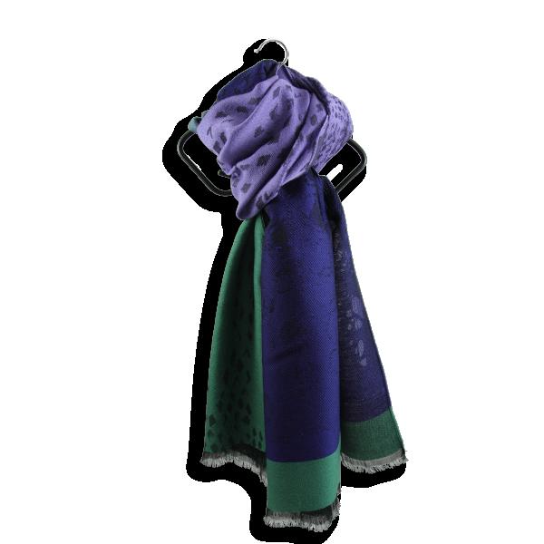 Stole-woman-delice-merino-wool-modal-green-purple-2A