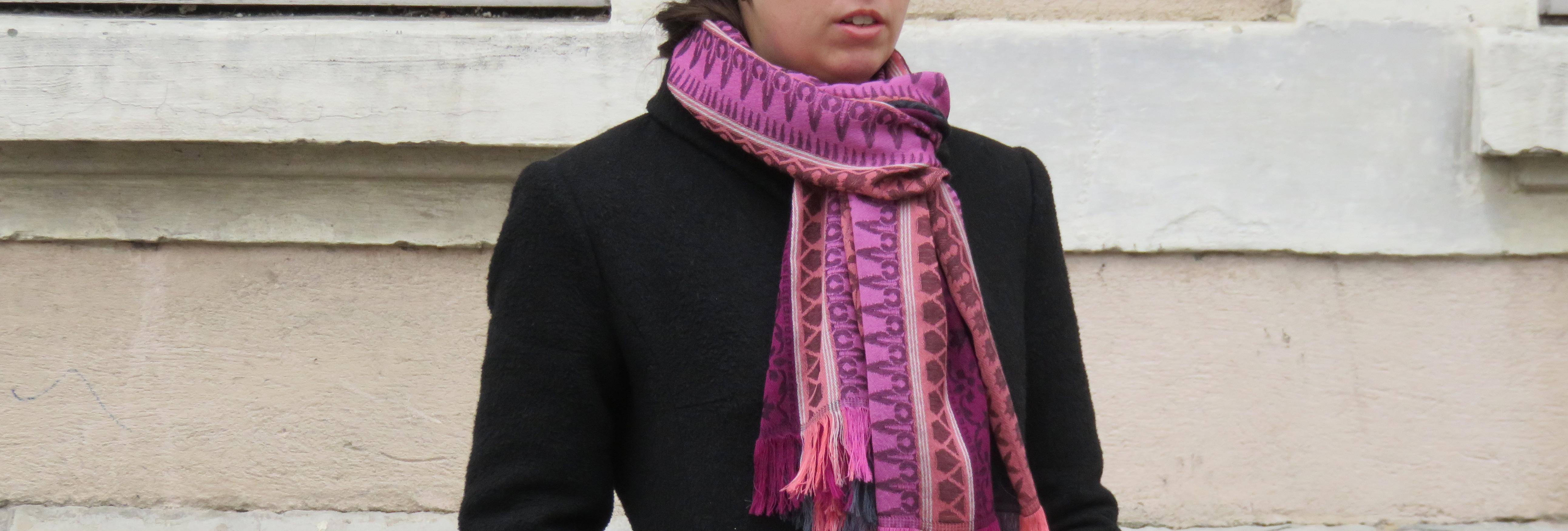 Quelle écharpe porter avec mon manteau ?