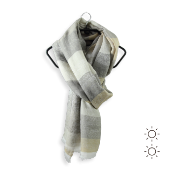 CHECHE COTON MODAL SOIE HERACLES BEIGE