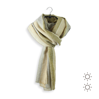 COTTON MODAL SCARF LINCOLN BEIGE