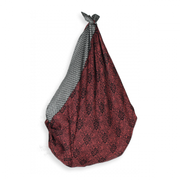 COTTON SHIKI BAG ALICIA RUST BLACK
