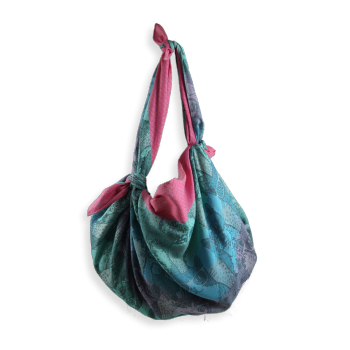 SHIKI BAG CATHY PINK AND TURQUOISE