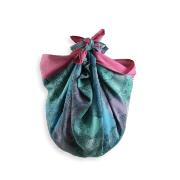 SHIKI BAG CATHY PINK AND TURQUOISE WITH RINGS
