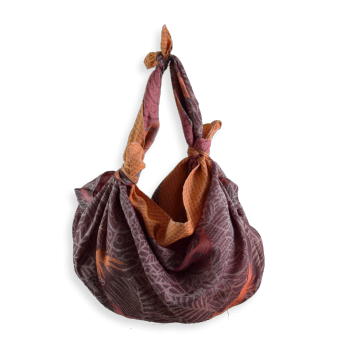 SHIKI BAG CHRISTELLE BURGUNDY AND RED