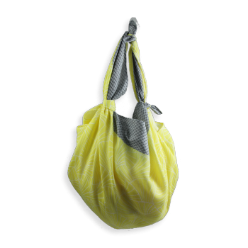 SHIKI BAG CORALIE YELLOW AND GREY