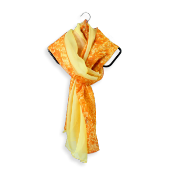 SILK DUO FLORAL YELLOW