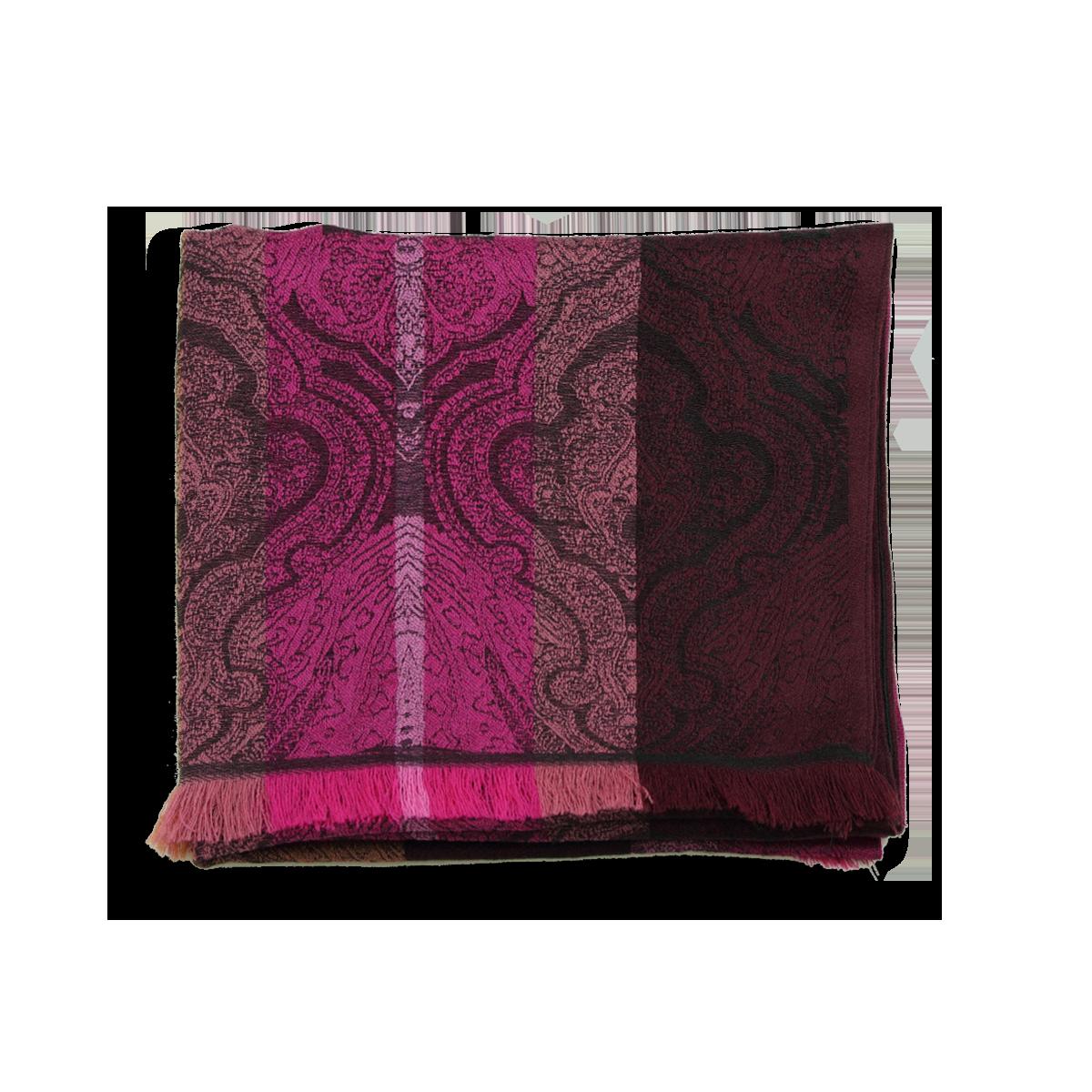 ddf8898b118 Echarpe Femme Rose en laine et soie - Très chic et élégante