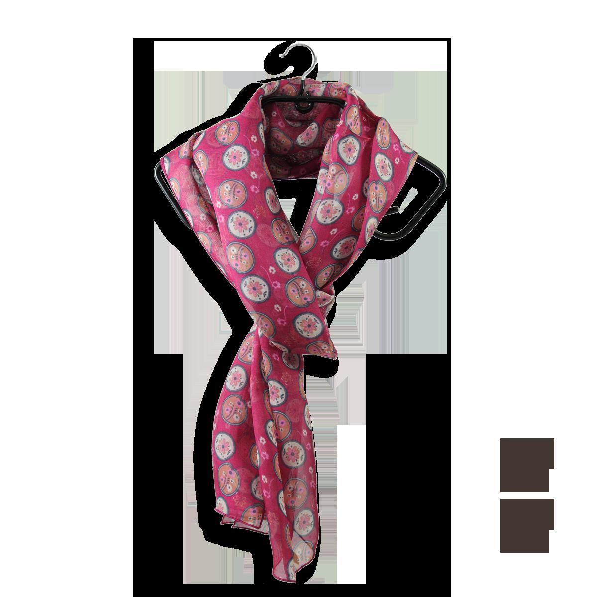 100/% soie foulard imprimé léopard avec frontière verte