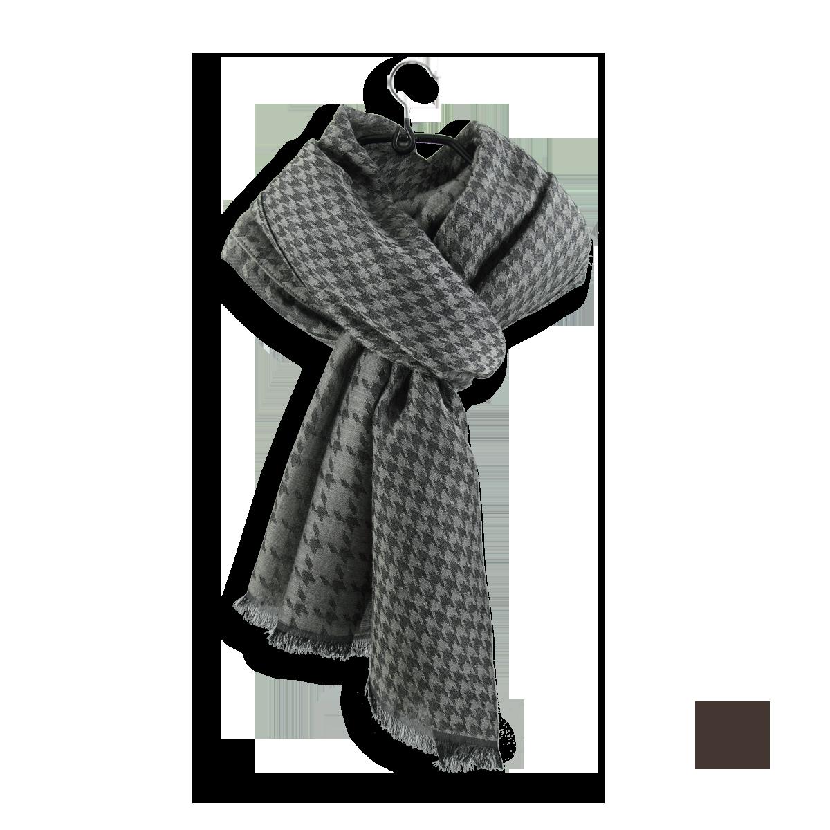 509a0c7180f Grande écharpe Homme en Coton Soie Beige - Joli écharpe cachemire